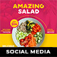 Food Social Media Templates - GraphicRiver Item for Sale
