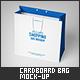 Medium Cardboard Shopping Bag Mock-Up - GraphicRiver Item for Sale