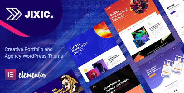 Jixic – Creative Portfolio & Agency WordPress Theme