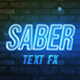 Saber - Text Effects - VideoHive Item for Sale