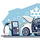 Car Air Conditioner Repair Refill Penguins - GraphicRiver Item for Sale