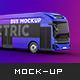 Hyundai Electric City Bus Mockup - GraphicRiver Item for Sale