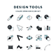 Design Tools Icons - GraphicRiver Item for Sale