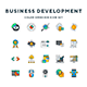 Business Development Icons - GraphicRiver Item for Sale