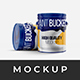 Paint Bucket Tin Mockup - GraphicRiver Item for Sale