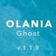 Olania — Minimal Blog and Magazine Ghost Theme - ThemeForest Item for Sale