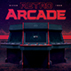 Video Games Flyer 80s Retro Gaming Arcade Mock Up - GraphicRiver Item for Sale