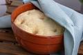 leavened dough in ceramic bowl - PhotoDune Item for Sale