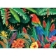 Tropical Background From Flowers Leaves - GraphicRiver Item for Sale