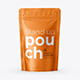 Stand Up Pouch Mockup. Front view - GraphicRiver Item for Sale