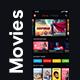 Movie, TV show & Web Series Streaming App UI Kit | Clipix - GraphicRiver Item for Sale