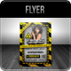 Danger Zone - Theme Party Flyer - GraphicRiver Item for Sale