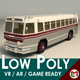Low Poly Vintage Bus 04 - 3DOcean Item for Sale