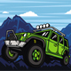 Off Road Car With Mountain Background - GraphicRiver Item for Sale
