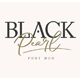 Black Pearl Font Duo - GraphicRiver Item for Sale