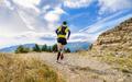 athlete runner run mountain trail - PhotoDune Item for Sale