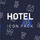 Hotel Service Icon Pack - GraphicRiver Item for Sale