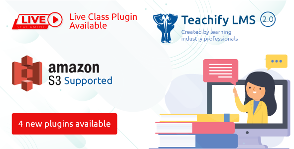 Teachify LMS – Powerful Learning Management System Download