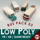 Low Poly Bus Pack 03 - 3DOcean Item for Sale