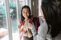 junior high school teen student are going to schoo - PhotoDune Item for Sale