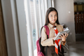 girl scout teen girl using tablet - PhotoDune Item for Sale