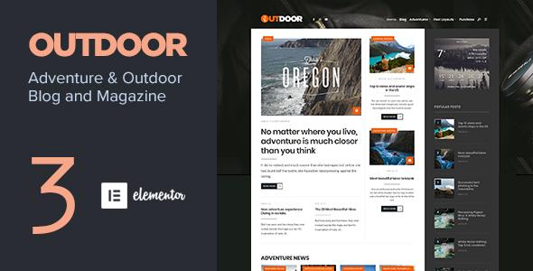 Outdoor - Responsive Adventure Blog and Magazine