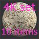Stone light 4K Texture set 10 items - 3DOcean Item for Sale