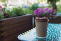 brown paper coffee cup to go - PhotoDune Item for Sale