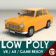 Low Poly Sedan Car 13 - 3DOcean Item for Sale