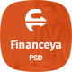Financeya - Consulting, Finance & Accounting PSD  Template - ThemeForest Item for Sale