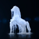 White Horse Logo Reveal - VideoHive Item for Sale