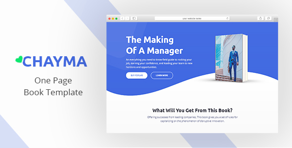 Review: Chayma - Book Author Promotion Template free download Review: Chayma - Book Author Promotion Template nulled Review: Chayma - Book Author Promotion Template