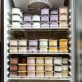 Fridge full of the ice cream in jars - PhotoDune Item for Sale