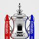 The Emirates FA Cup 3D Model Trophy - 3DOcean Item for Sale