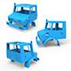 Mercedes Benz Unimog U 3D Printing Model - 3DOcean Item for Sale