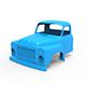 GAZ-53 Cabin 3D Printing Model - 3DOcean Item for Sale