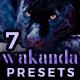 7 Cinematic Lightroom Presets - Wakanda Inspired Pack (+ Mobile Version) - GraphicRiver Item for Sale