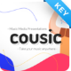 Cousic Music Event Keynote Presentation Template Fully Animated - GraphicRiver Item for Sale