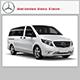 Mercedes Benz Viano - 3DOcean Item for Sale