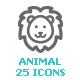 Animal & pet Mini Icon - GraphicRiver Item for Sale