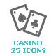 Casino & Gambling Mini Icon - GraphicRiver Item for Sale