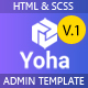 Yoha - Responsive HTML Bootstrap Admin Template - ThemeForest Item for Sale