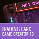 Trading Card Game Creator - Vol 13 - Cyberpunk - GraphicRiver Item for Sale
