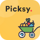 Picksy - React Gatsby Grocery Ecommerce Template - ThemeForest Item for Sale