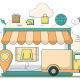 Online Shopping Delivery - GraphicRiver Item for Sale