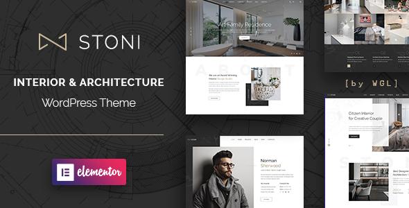 Stoni - Architecture Agency WordPress Theme Download