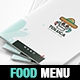 Mexican Restaurant Menu A4 - InDesign - GraphicRiver Item for Sale