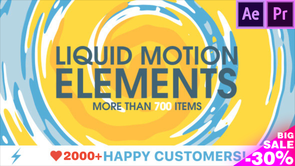 Liquid Motion Elements