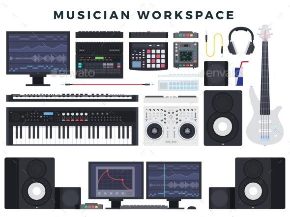 Musician Workspace Set