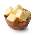butter cubes in wooden bowl - PhotoDune Item for Sale
